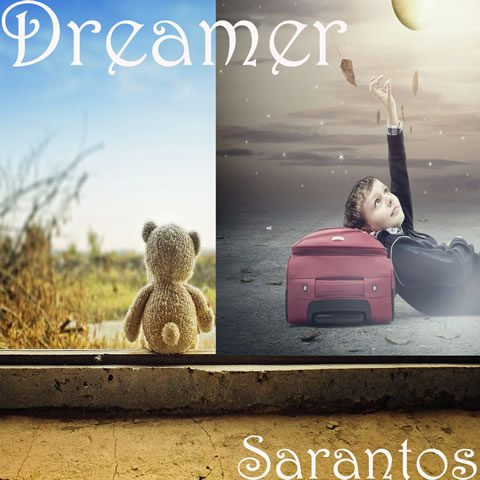 Dreamer song artwork for Sarantos solo music artist CD Baby