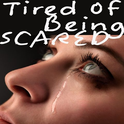 Tired Of Being Scared CD Baby
